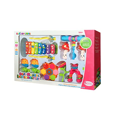 Toys For Infants >> Amazon Com O Toys Baby Rattle Toys For Infants Xylophone