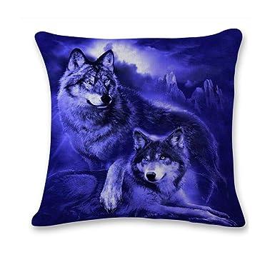 Amazon.com: Gmgod❤️ GomaiZILIAO Funda de cojín, lindo sofá ...