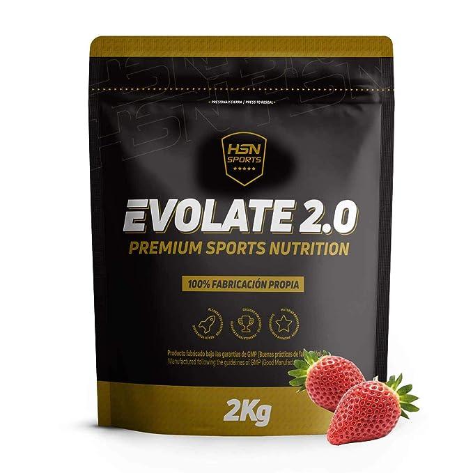 Aislado de Proteína de Suero Evolate 2.0 - Con Digezyme, Rica en BCAAs y Glutamina, Apto Vegetariano, Sin Gluten, Sin Soja, Sabor, Tarta de ...