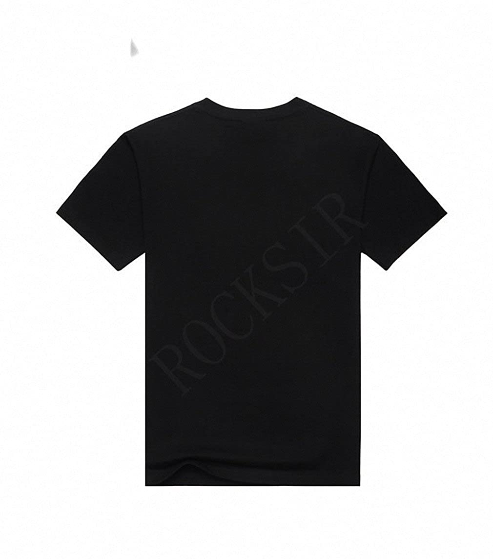 Amazon.com: Emlyn Adrian 3D Print Skull Printing Cotton Fashion T-Shirt Mens Print Camisetas Summer Short Sleeve T Shirts: Clothing
