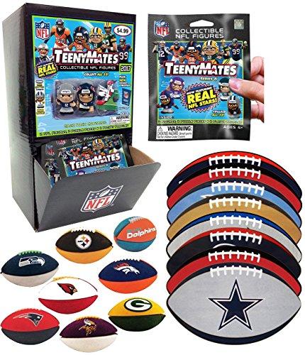 TeenyMates NFL Series 6 Mini Figures (Case of 32 Packs)