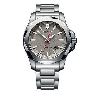 Victorinox Swiss Army Reloj Unisex de Analogico con Correa en Chapado en Acero Inoxidable 241739: Amazon.es: Relojes