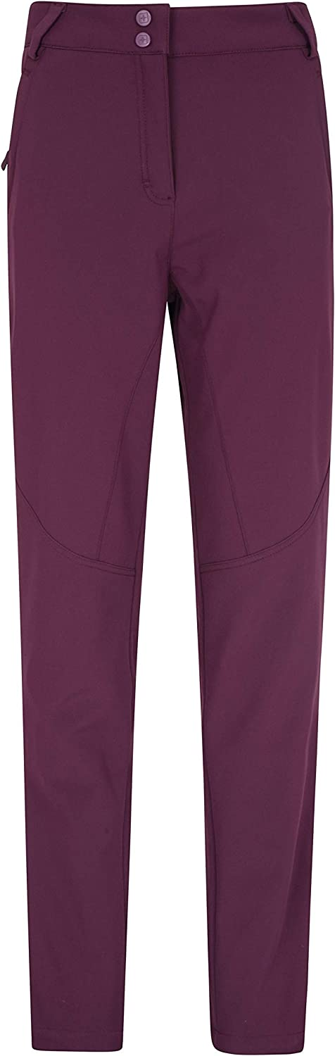 Ideal for Snowboarding Durable Snow Trousers Slim Fit Sledges Mountain Warehouse Avalanche Womens High-Waisted Ski Pants Warm Ski Suit Stylish Salopettes Skiing