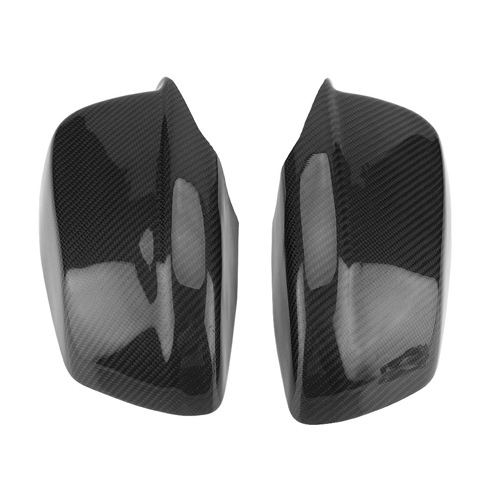 KIMISS 1 Pair of Carbon Fiber Rear View Mirror Cover for BMW 5 Series F10/F11/F18 Pre-LCI 11-13 by KIMISS (Image #6)