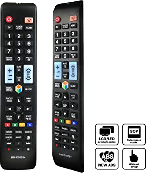 Yoosen SM-1078+ - Mando a Distancia Universal para televisor Samsung TV/Smart TV, Compatible con BN59-01199F BN59-01178W AA59-00594A AA59-00666A AA59-00784C AA59-00582A: Amazon.es: Electrónica