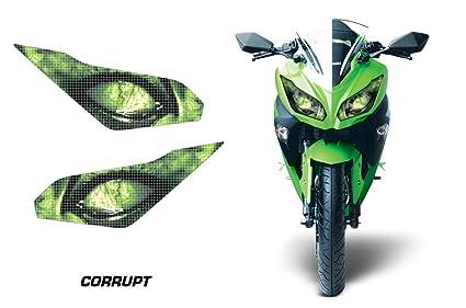 Amr Racing Sport bicicleta faros ojo gráfico de vinilo, para ...