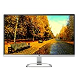 HP 27-Inch Business Flagship Monitor | FHD 1920 x 1080 | IPS With LED Backlight Display | 178 degrees horizontal and vertical | 1XVGA | 2X HDMI | Silver