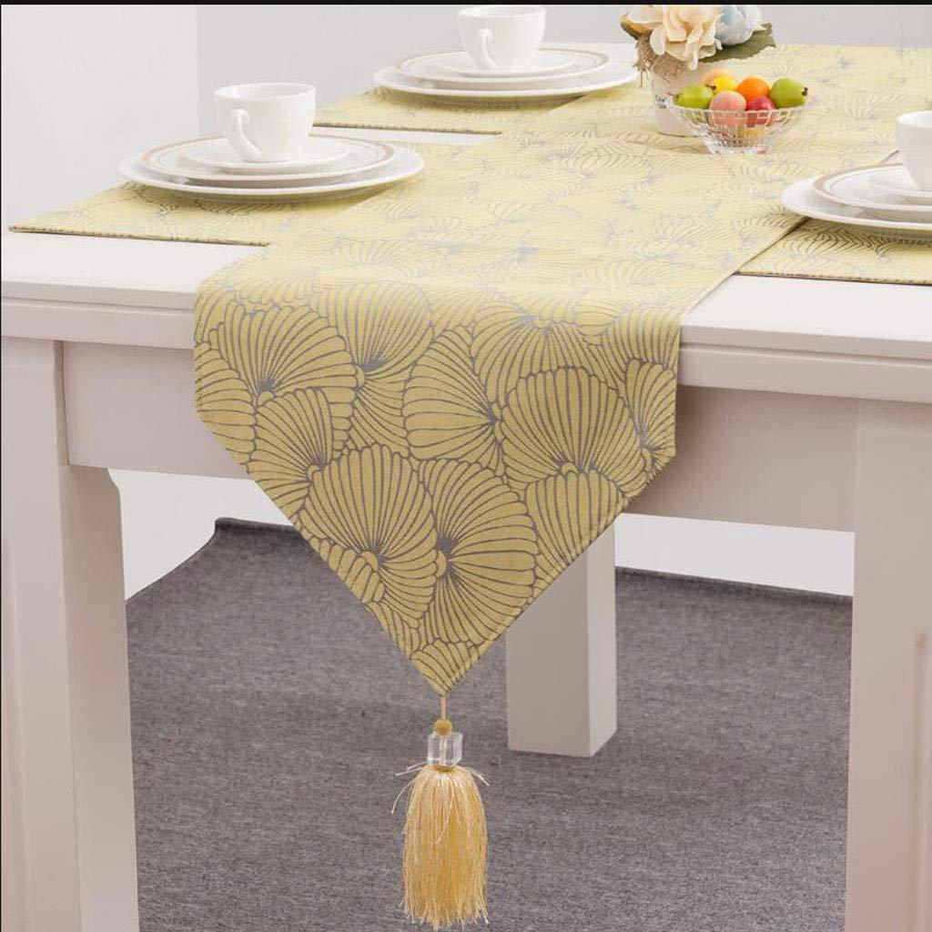 Fan Tisch Tisch Tisch Bunting Fashion Einfache Nordic Kaffee Bett Hochzeit Hotel Bankett Dekoration 3 Farben 35 cm  160 cm (Farbe : Blau, größe : 210cm) 228aa4