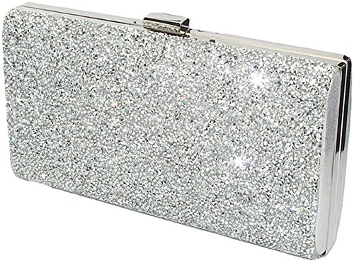 Covelin Women's Handbag Envelope Rhinestone Evening Clutch Bag Hot ()