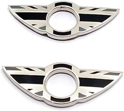 Auto Interior Metal Mini Decor Emblem Car Door Pin Badge Wing Sticker