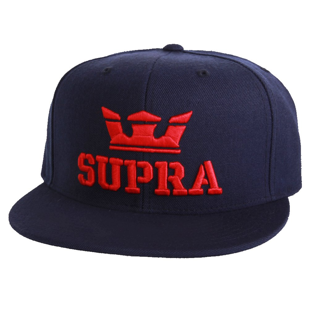 Supra Above Snapback Cap Navy Red: Amazon.es: Zapatos y complementos