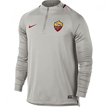 Nike 2017-2018 AS Roma Training Drill Top (Light Bone): Amazon.es: Deportes y aire libre