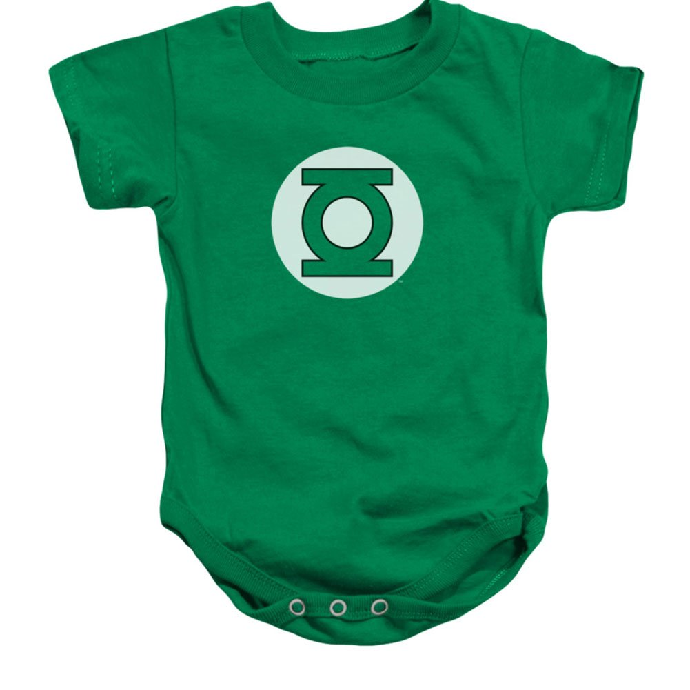DC Comics Green Lantern Logo Unisex Baby Snapsuit Trevco