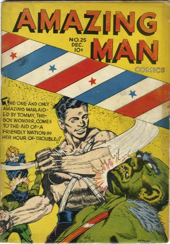6ff0b292968 Amazing-Man Comics  25 (Illustrated) (Golden Age Preservation Project) by