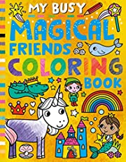 My Busy Magical Friends Coloring Book