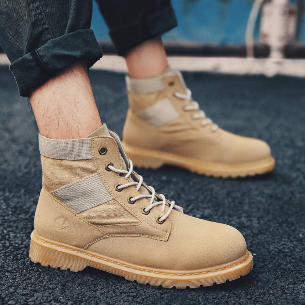 Zapatos de hombre JiaMeng Oxford Shoes Zapatos con Cordones Botines Transpirable Zapatos Cruzados Atado Deportes de Moda Zapatos para Correr Botas: ...