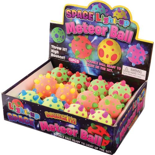DollarItemDirect Light UP Meteor Bounce Balls , Sold by 3 Dozens by DollarItemDirect (Image #3)