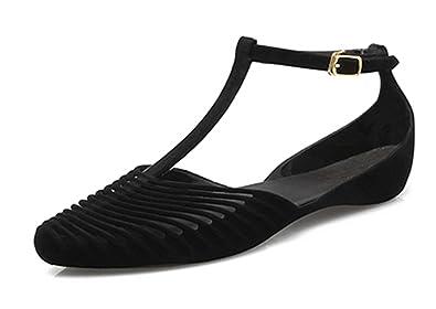 ff602a710 Women Flat Shoes Women Ballet Flats Flat Shoes for Women Ladies Loafers  Women s Shoes Black 4
