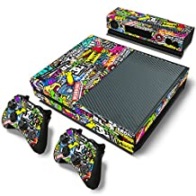 BHY Protective Game Decals Skin Cover Sticker for Xbox One Console and Controllers -No.a0070