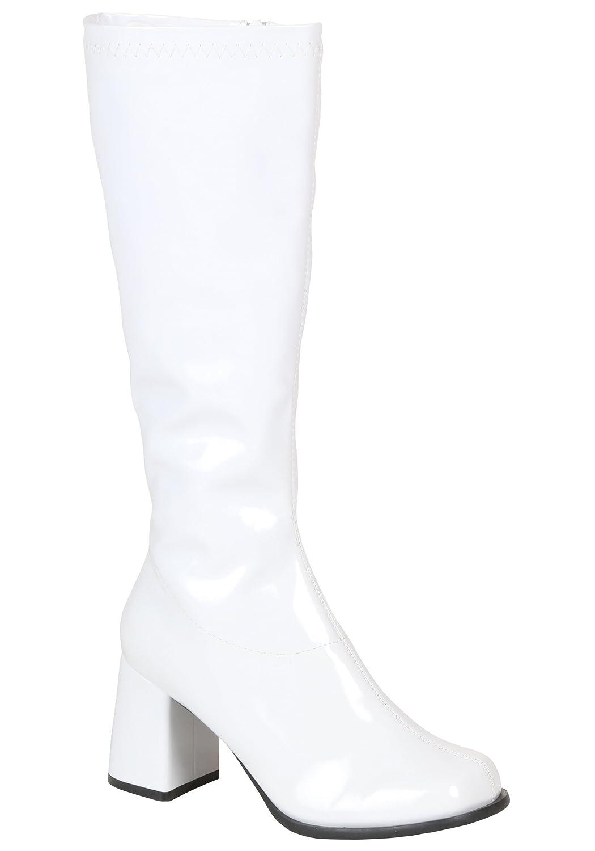 Womens White Costume Boots Fun Costumes