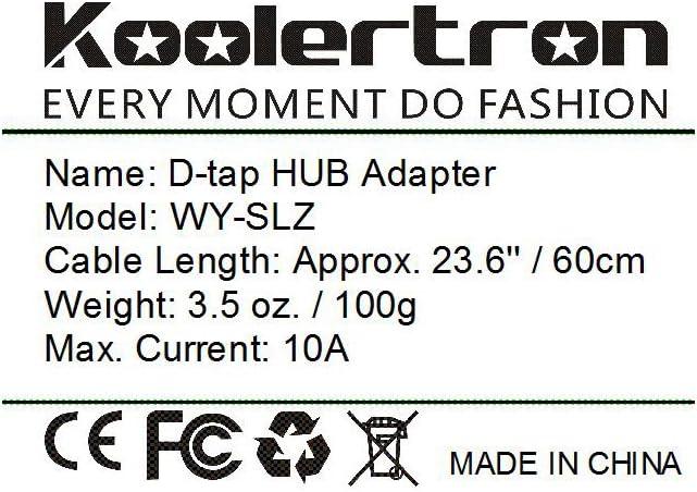 D Tap Hub D Tap Stecker Männlich Dtap Kabel Zu 4 Port Kamera