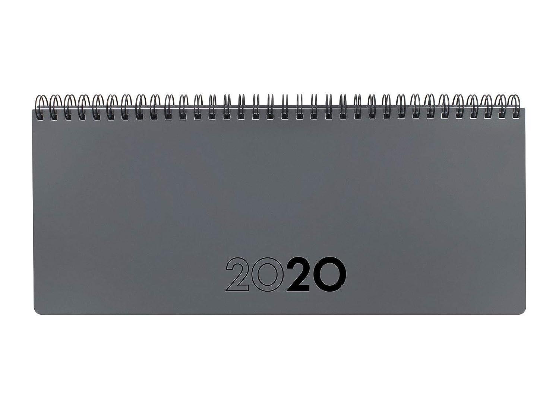 Finocam - Planificador 2020 290x116 semana vista + notas Gris español