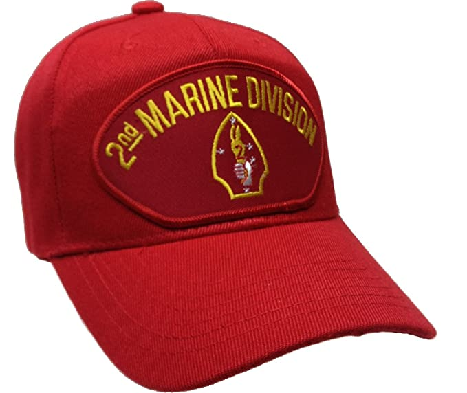 2nd Second Marine Division Ball Cap Hat Ballcap USMC US Marine Corps