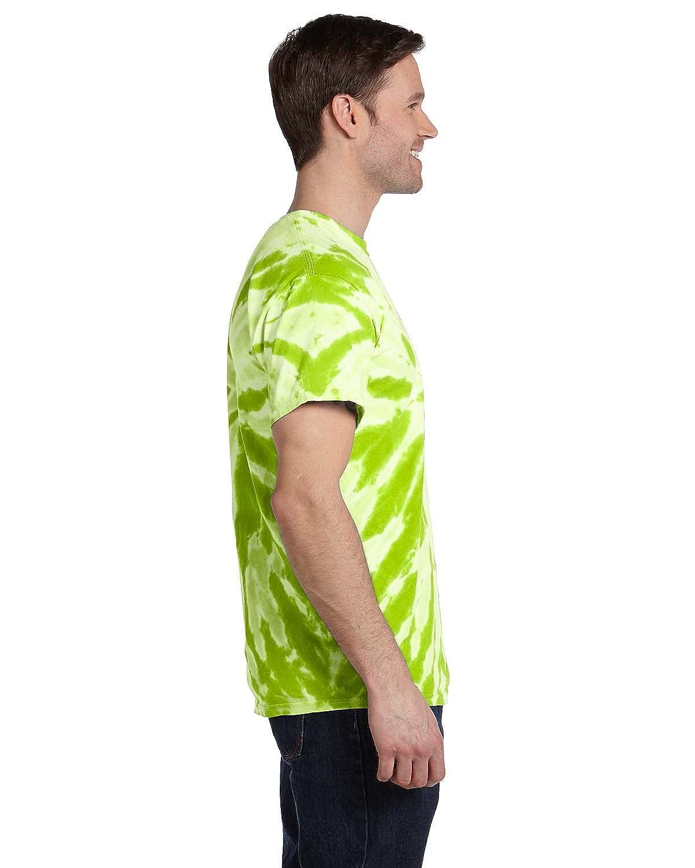 100/% Cotton Twist Tie-Dyed T-Shirt Tie-Dye 5.4 oz. - TWIST LIME,4XL CD110