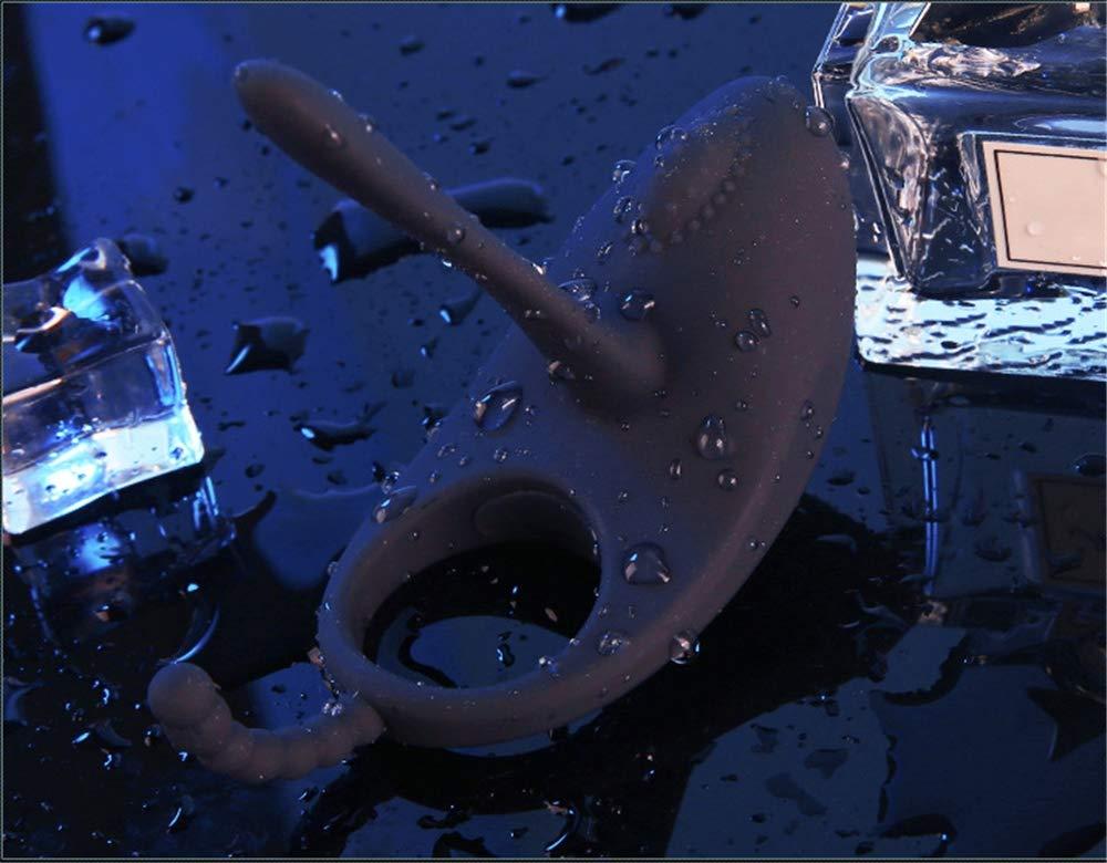 Anillo de polla vibrante de silicona completo - anillo Vibrador de anillo - de pene recargable impermeable - Juguete sexual para hombres o parejas 600c6d