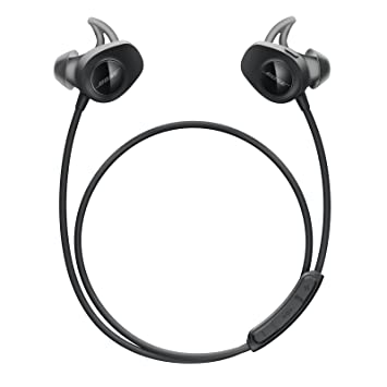 Buy Bose Soundsport Wireless Earbuds Sweatproof Bluetooth Headphones For Running And Sports Black Online At Low Prices In India Amazon In