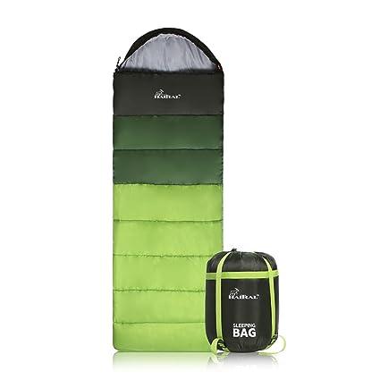 Amazon.com: HAITRAL Saco de dormir portátil con bolsa de ...