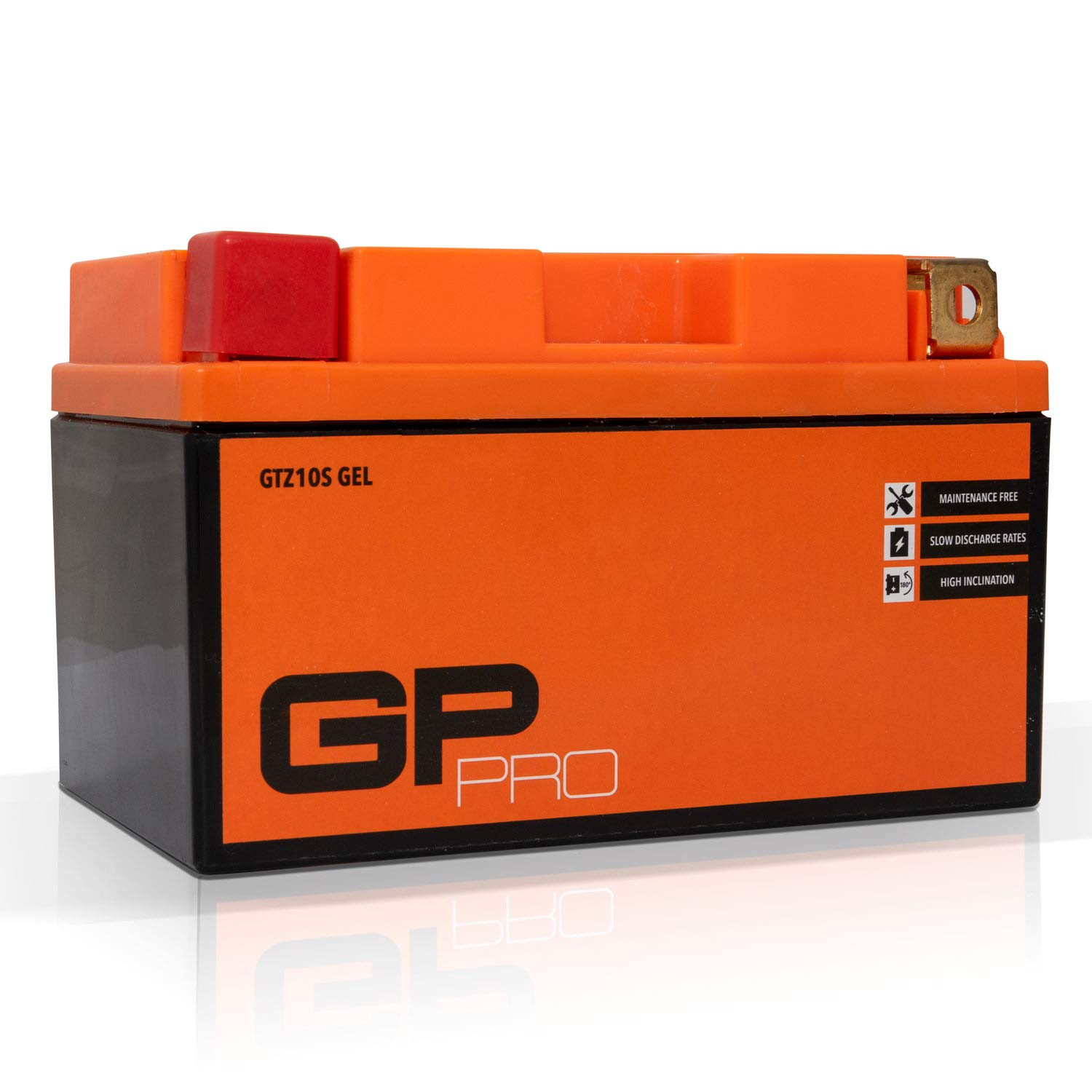 Maintenance-free // Sealed similar to YTZ10S // YTZ10-BS Motorcycle Accumulator GP-PRO GTZ10S 12V 9Ah GEL Starter Battery