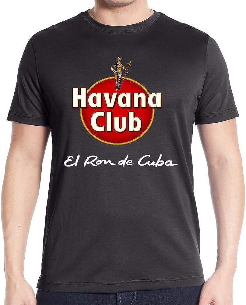 Fashion Havana Club Graphic Men T Shirt: Amazon.es: Ropa y ...