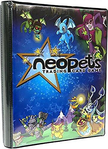 Ultra Pro Neopets Trading Card Game Soft Cover 4-Pocket Porfolio Mini Binder