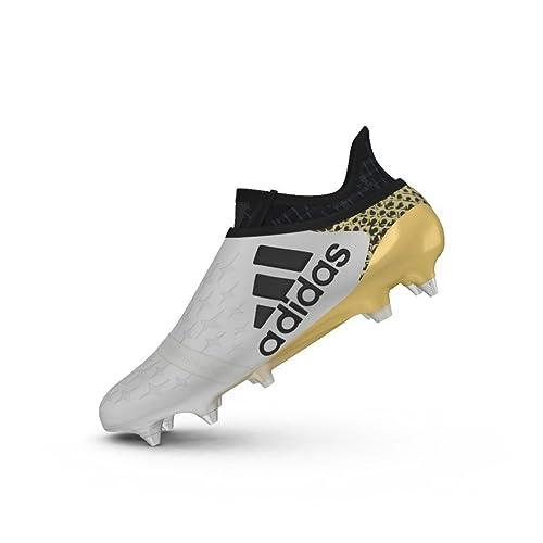 superior quality cheap sale vast selection adidas X 16+ Pure Chaos SG - Crampons de Foot - Blanc/Noir ...