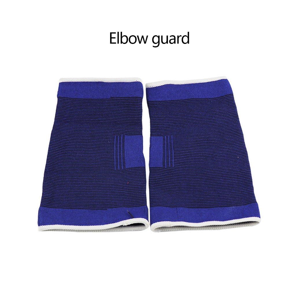 VEVICE - 1 par de coderas deportivas – Coderas con almohadillas de apoyo para deportes entrenamiento de tenis baloncesto yoga pilates levantamiento de pesas artritis prevención de tendinitis, alivio del dolor en las articulaciones