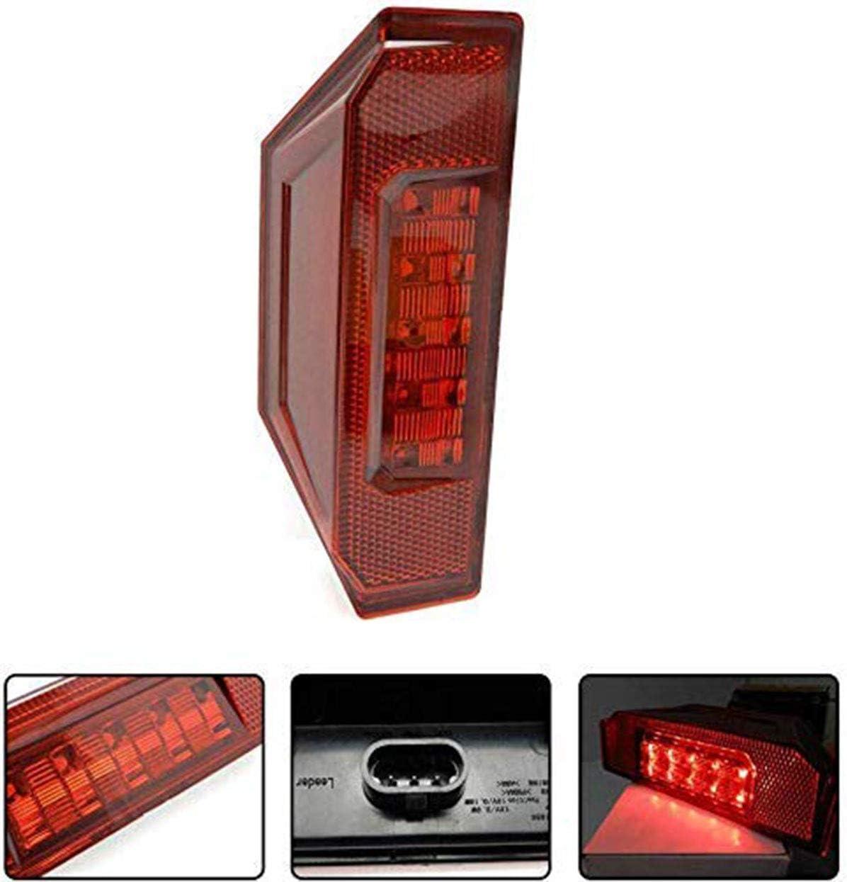 PAIR 2412774 Polaris Ranger 570 900 1000 XP Rear LED Taillight Black Out Lens