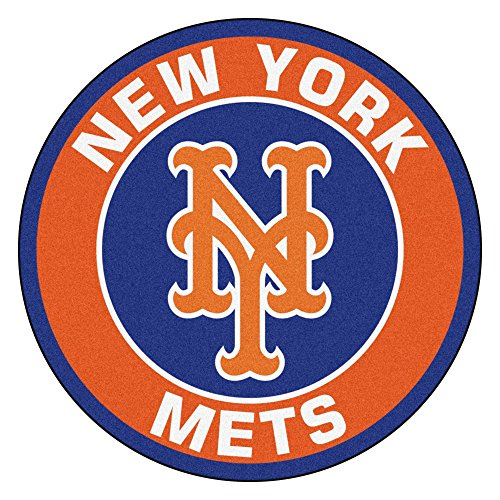 FANMATS 18143 MLB New York Mets Roundel Mat (Mets New York Floor)