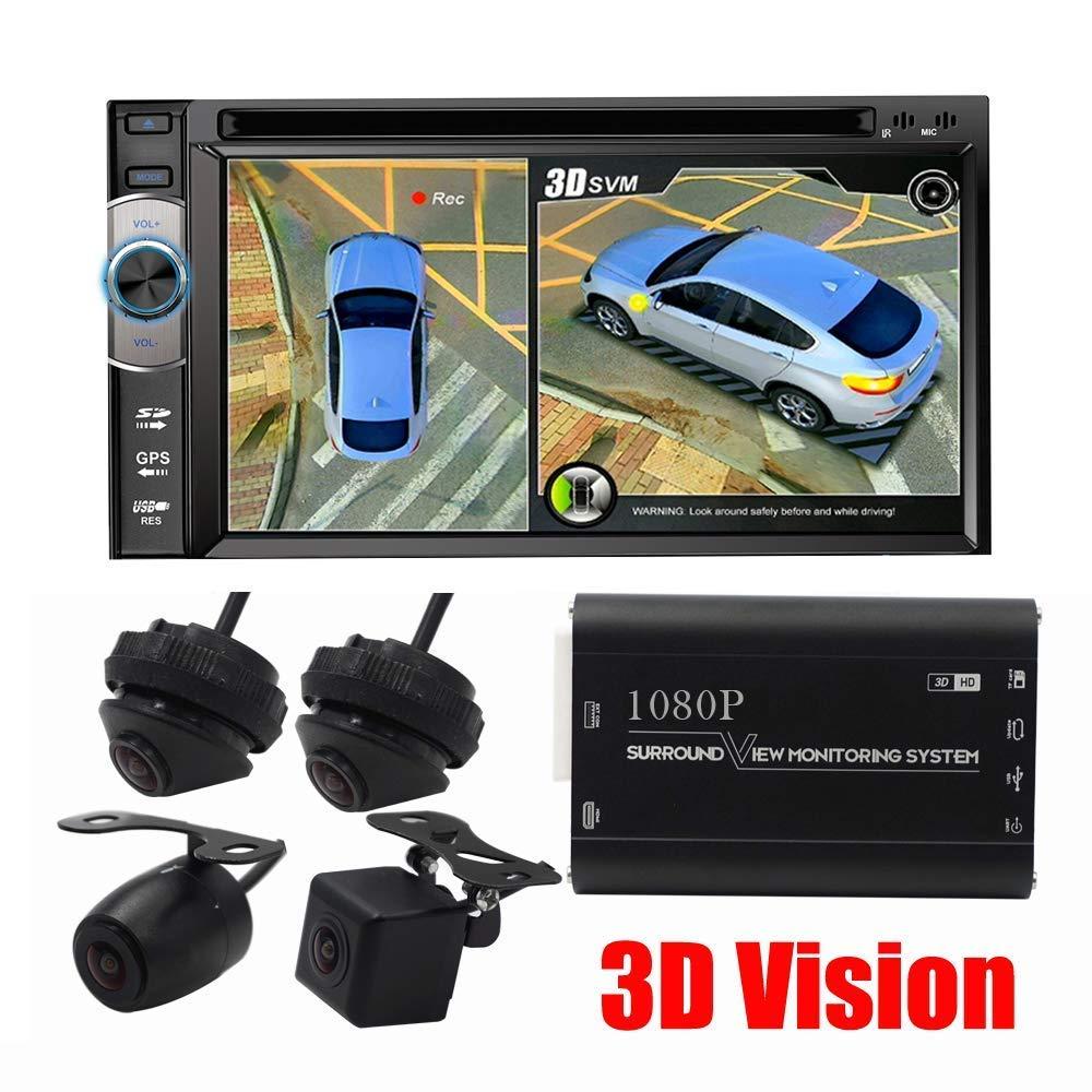 LW 駐車システム 1080P LW HD 3D パノラマカメラ 360度シームレスサラウンドビュー デジタルビデオレコーダー 駐車システム 自動車用カメラ B07JY621FT オールラウンドナイトビジョン 防水裏面カメラ B07JY621FT, ヒノシ:9793ff5c --- loveszsator.hu
