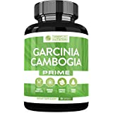 Garcinia Cambogia Weight Loss Pills - 100% Natural 60% HCA Pure Extract Appetite Suppressant, Metabolism Booster, Non-Stimulant Diet Supplements for Men and Women - Vegan Non-GMO Gluten Free - 90 Cap