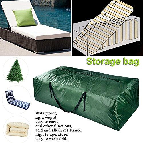 WZTO Cushion Cover Storage Bag Durable Cushion Storage Bag Waterproof with Rust-Proof Zipper Resistant Cover Storage Bag with Handles by WZTO (Image #2)