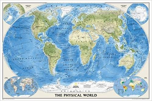 National geographic world physical wall map 4575 x 305 inches national geographic world physical wall map 4575 x 305 inches national geographic reference map 2014th edition gumiabroncs Choice Image