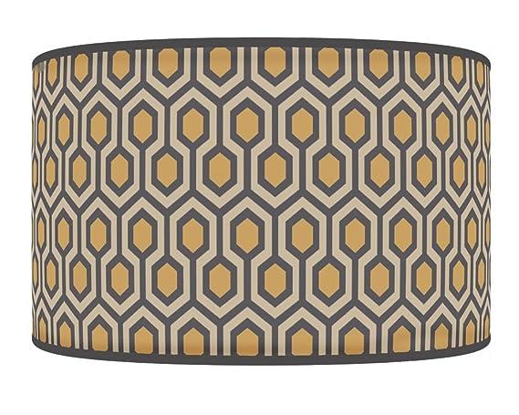 Pantalla para lámpara de techo o lámpara colgante de tela, diseño ...