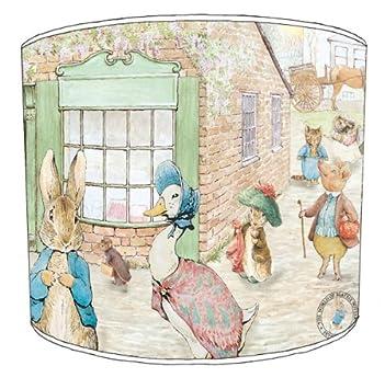 Premier Abat-jour Table Beatrix Potter Pierre lapin et ses amis pour enfants abat-jour Premier Lampshades