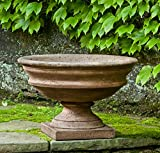 Campania International P-596-PV Newberry Urn, Pietra Vecchia Finish