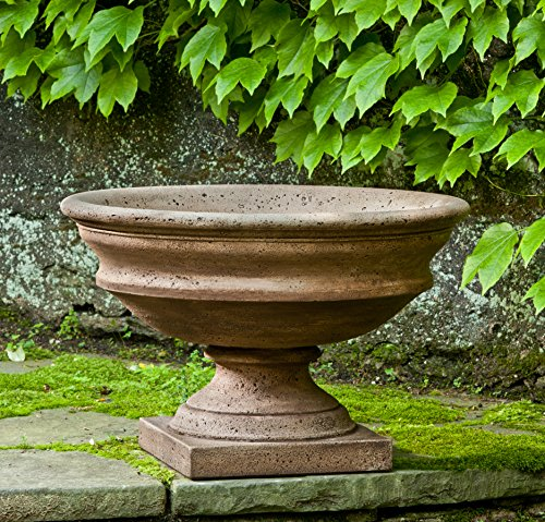 Campania International P-596-PV Newberry Urn, Pietra Vecchia Finish by Campania International