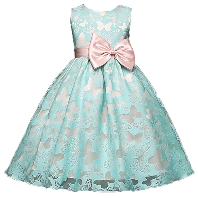 Amazoncom Adhs Kids Baby Girls Flower Floral Wedding Gowns Prom