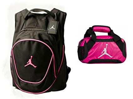 2e844b7e13f Nike Air Jordan Jumpman Backpack & Insulated Trainer Lunch Tote Bag Set +  FREE Cell Phone