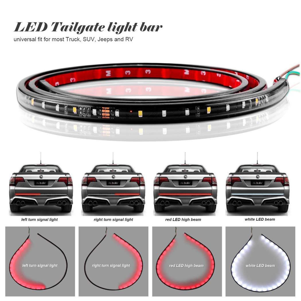 Fansport Luce di Striscia del Camion LED Autoadesivo Indicatore di Direzione del Portellone Posteriore