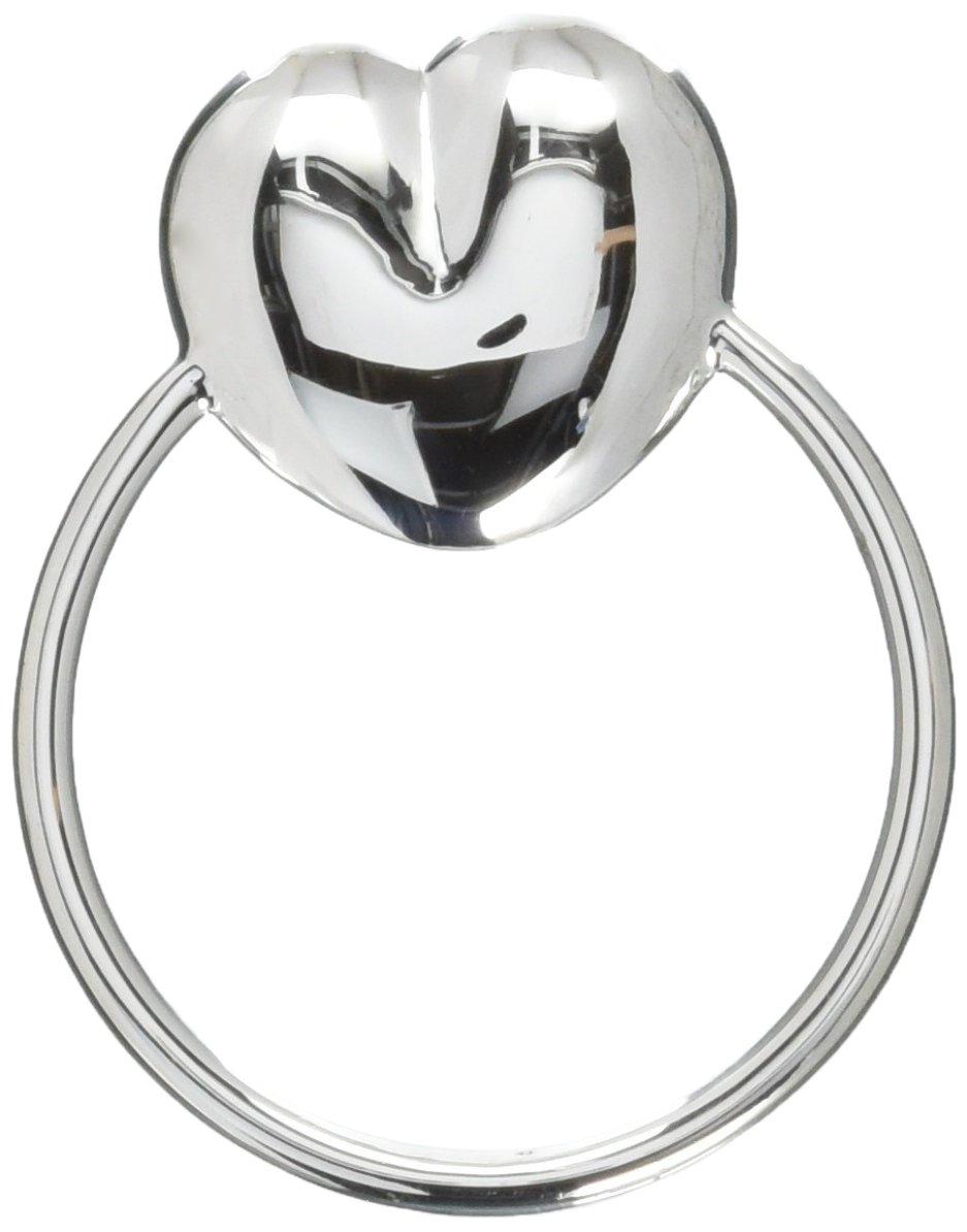 Krysaliis Sterling Silver Baby Teether Rattle, Heart by Krysaliis